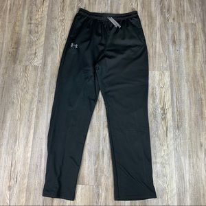 Under Armour Black Fleece Lined Athletic Pants